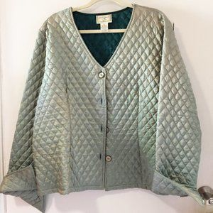 April Cornell quilted jacket